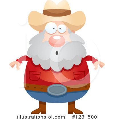 Prospector Clipart #1231500 by Cory Thoman