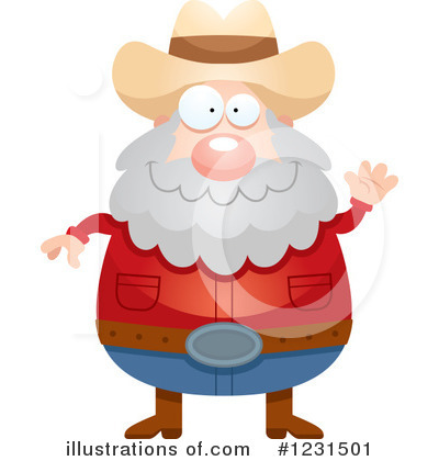 Prospector Clipart #1231501 by Cory Thoman