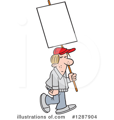 Protestor Clipart #1287904 by Johnny Sajem