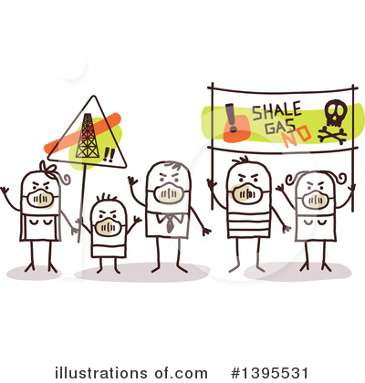 Protestor Clipart #1395531 by NL shop