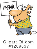Protesting Clipart #1209637 by toonaday