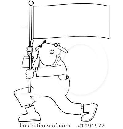 Protestor Clipart #1091972 by djart