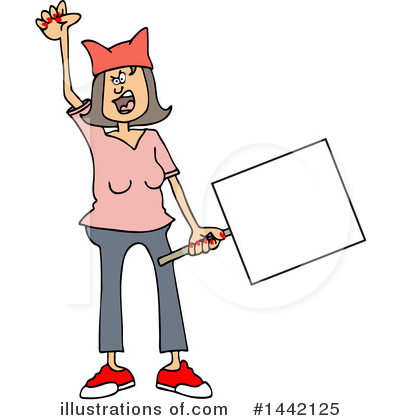 Protestor Clipart #1442125 by djart