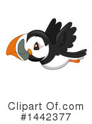 Royalty-Free (RF) Puffin Clipart Illustration #1442377