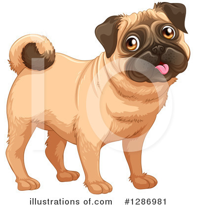 Dog Clipart #1286981 by Graphics RF