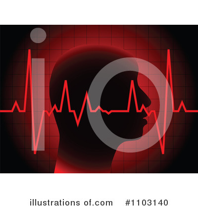 Heartbeat Clipart #1103140 by Andrei Marincas