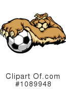 Royalty-Free (RF) Puma Clipart Illustration #1089948