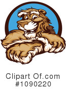 Royalty-Free (RF) Puma Clipart Illustration #1090220