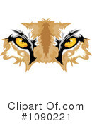 Royalty-Free (RF) puma Clipart Illustration #1090221