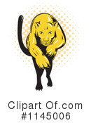 Royalty-Free (RF) Puma Clipart Illustration #1145006