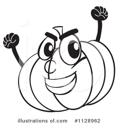 Jackolantern Clipart #1128962 by Graphics RF