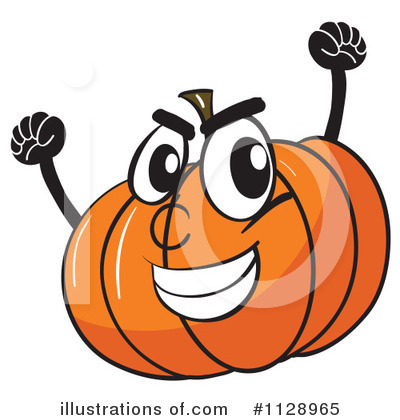 Jackolantern Clipart #1128965 by Graphics RF
