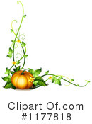 Pumpkin Clipart #1177818 by Graphics RF