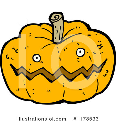 Jack-O-Lantern Clipart #1178533 by lineartestpilot