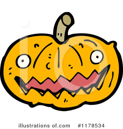 Jack-O-Lantern Clipart #1178534 by lineartestpilot