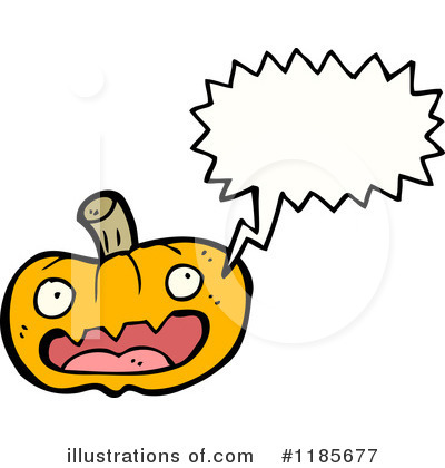 Royalty-Free (RF) Pumpkin Clipart Illustration by lineartestpilot - Stock Sample #1185677