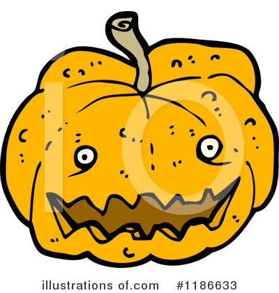 Jack-O-Lantern Clipart #1186633 by lineartestpilot