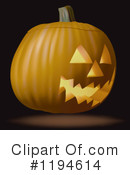 Pumpkin Clipart #1194614 by dero