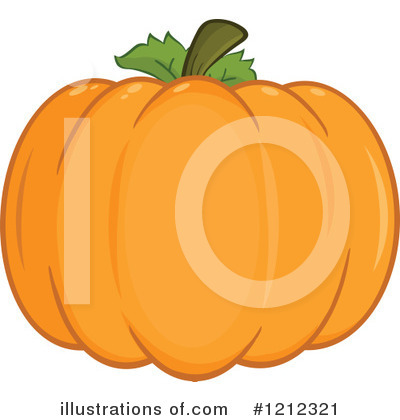 Pumpkin Clipart #1212321 by Hit Toon
