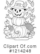 Pumpkin Clipart #1214248 by visekart