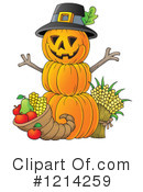Pumpkin Clipart #1214259 by visekart