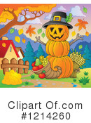 Pumpkin Clipart #1214260 by visekart