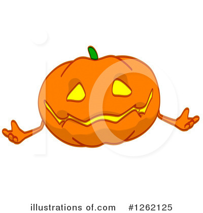 Pumpkin Clipart #1262125 by Julos