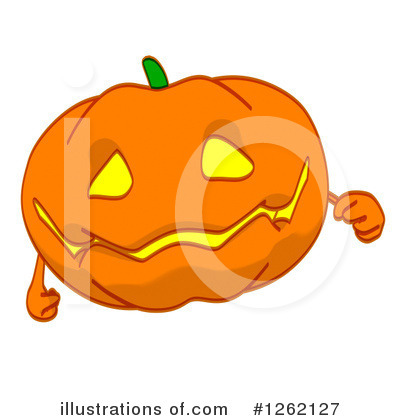 Royalty-Free (RF) Pumpkin Clipart Illustration by Julos - Stock Sample #1262127