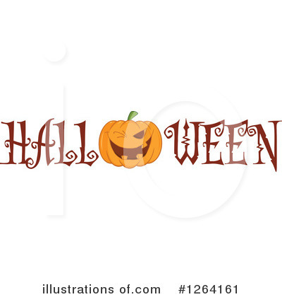 Pumpkin Clipart #1264161 by Hit Toon