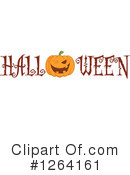 Royalty-Free (RF) Pumpkin Clipart Illustration #1264161