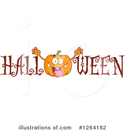 Pumpkin Clipart #1264162 by Hit Toon