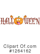 Royalty-Free (RF) Pumpkin Clipart Illustration #1264162