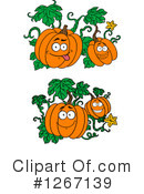 Pumpkin Clipart #1267139 by Vector Tradition SM