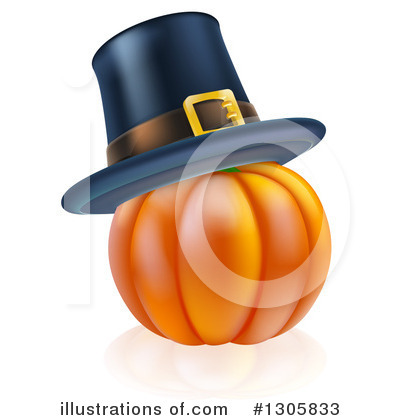 Thanksgiving Clipart #1305833 by AtStockIllustration