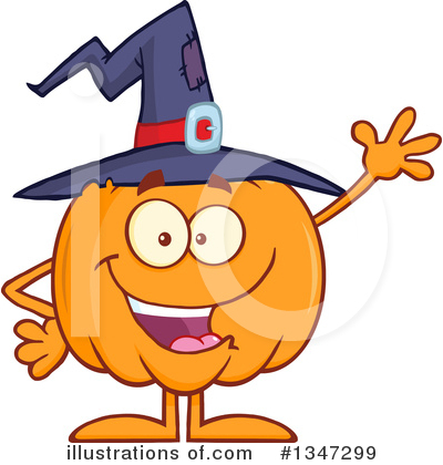Pumpkin Clipart #1347299 by Hit Toon