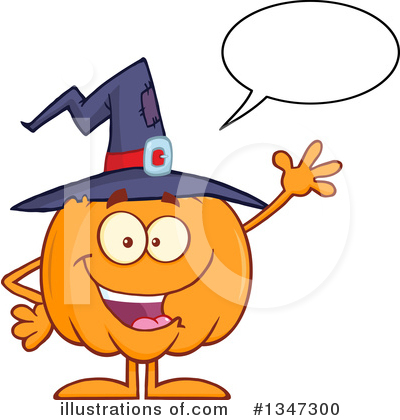 Royalty-Free (RF) Pumpkin Clipart Illustration by Hit Toon - Stock Sample #1347300