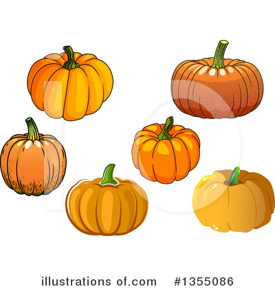 Thanksgiving Clipart #1355086 by Vector Tradition SM