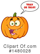 Pumpkin Clipart #1480028 by Hit Toon