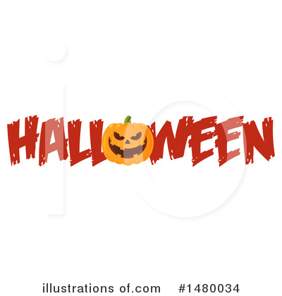 Jackolantern Clipart #1480034 by Hit Toon