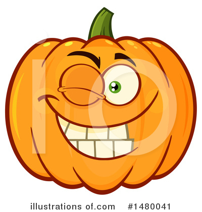 Royalty-Free (RF) Pumpkin Clipart Illustration by Hit Toon - Stock Sample #1480041