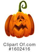 Pumpkin Clipart #1602416 by Vector Tradition SM