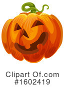 Pumpkin Clipart #1602419 by Vector Tradition SM