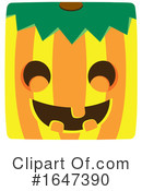 Pumpkin Clipart #1647390 by Cherie Reve