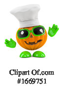 Pumpkin Clipart #1669751 by Steve Young