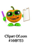 Pumpkin Clipart #1669753 by Steve Young