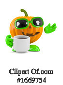 Pumpkin Clipart #1669754 by Steve Young