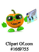Pumpkin Clipart #1669755 by Steve Young