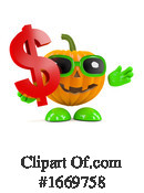 Pumpkin Clipart #1669758 by Steve Young