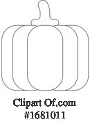 Pumpkin Clipart #1681011 by AtStockIllustration
