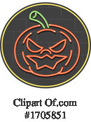 Pumpkin Clipart #1705851 by patrimonio